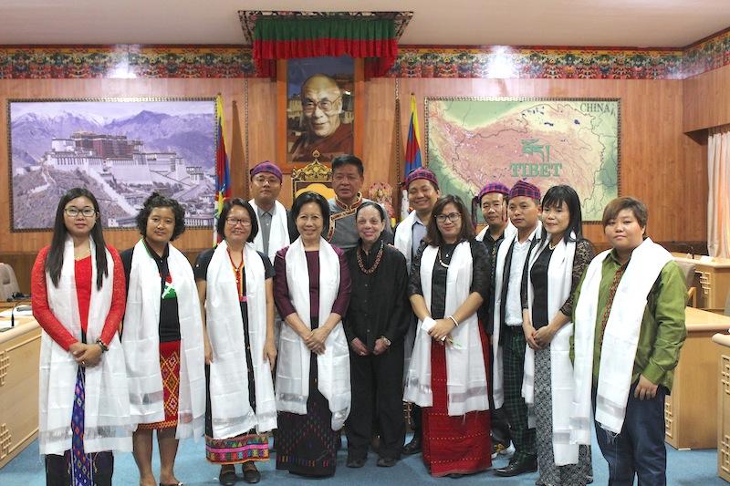 Speaker Penpa Tsering with bxcxbcknbnbv