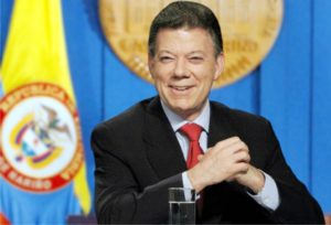 Columbian President Mr. Juan Manuel Santos, recipient of the 2016 Noble Peace Prize