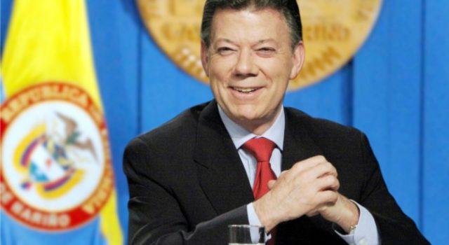 Speaker Applauds 2016 Nobel Peace Laureate Colombian President Juan Manuel Santos