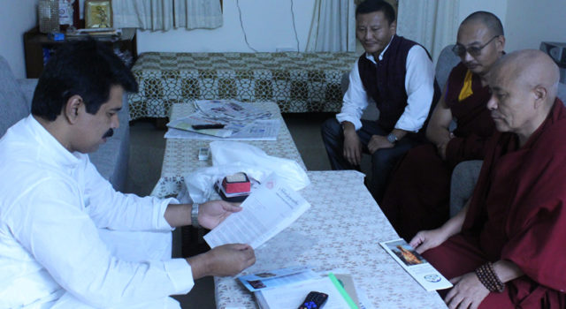 Tibetan Parliamentary Delegation Urges Indian Ministers and Members of Parliament to Raise Tibet Issue