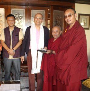 Tibetan Parliamentary Delegation with Shri. Dr. Abhishek Sanghvi, member of Rajya Sabha.