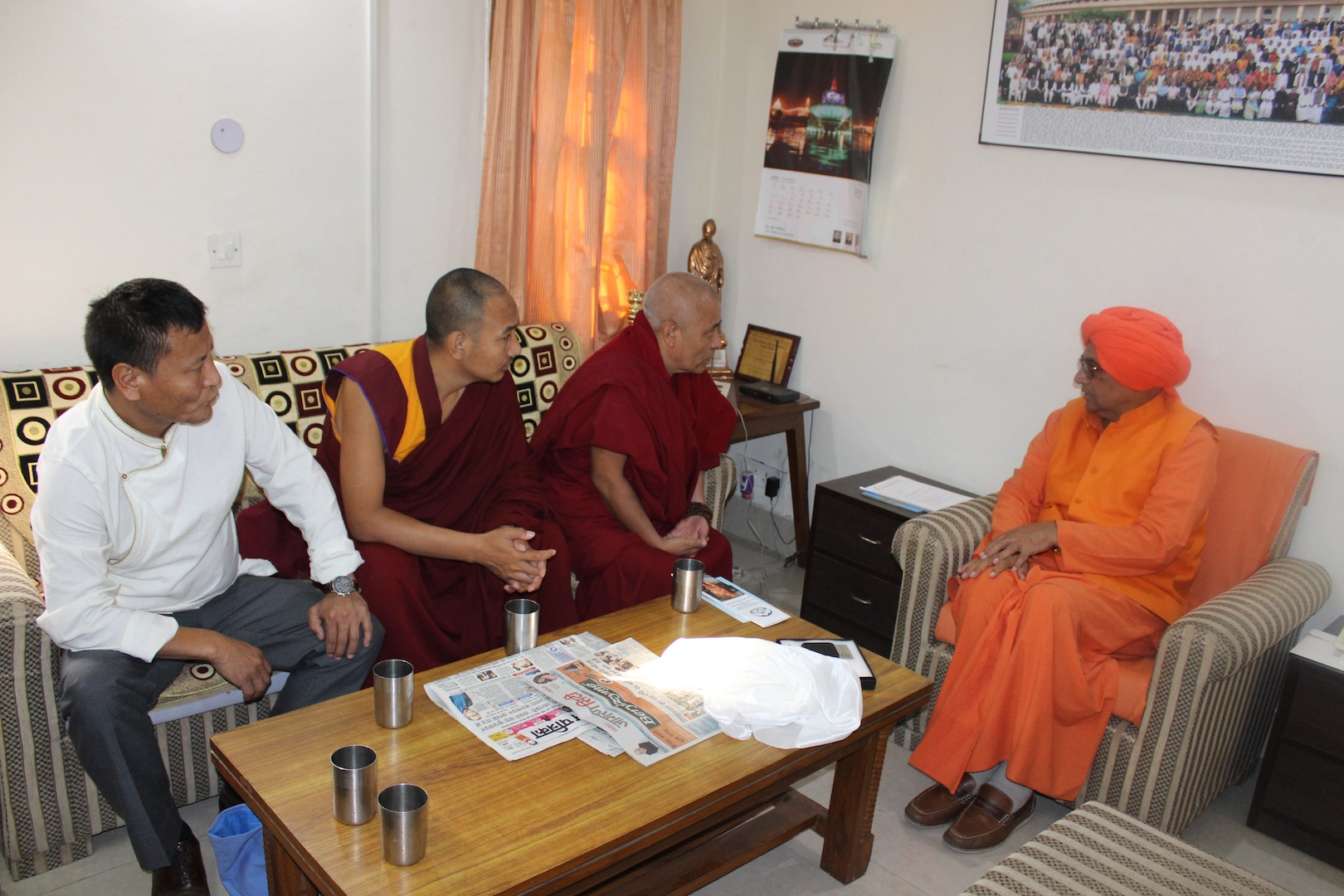 , member of Lok Sabha with the Tibetan Parliamentary Delegation.