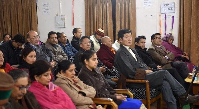 Deputy Speaker Acharya Yeshi Phuntsok Attends India's 68th Republic Day Function at Dharamshala