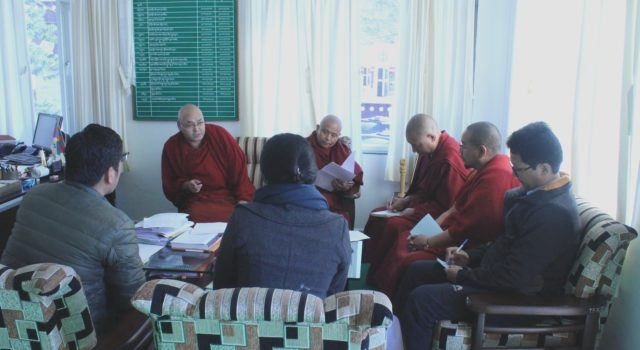 Tibetan Parliamentary Committee Meets to Review CTA Budget 2017– 18