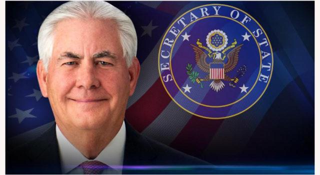 Tibetan Parliament Congratulates New US State Secretary Tillerson