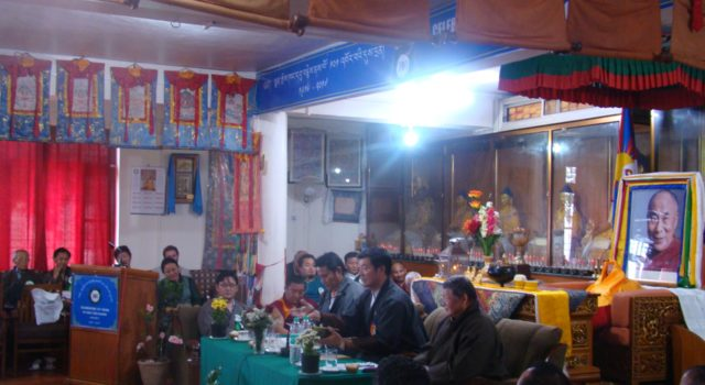 Standing Committee Members take part in Mentsekhang 101st Founding Anniversary