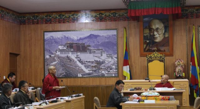7th day of the 3rd session of the 16th Tibetan Parliament-in-Exile