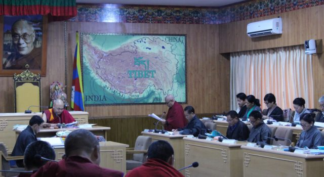 8th day of the 3rd session of the 16th Tibetan Parliament-in-Exile