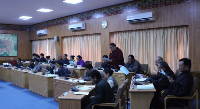 The 16th Tibetan Parliament-in-Exile Concludes its Third Session