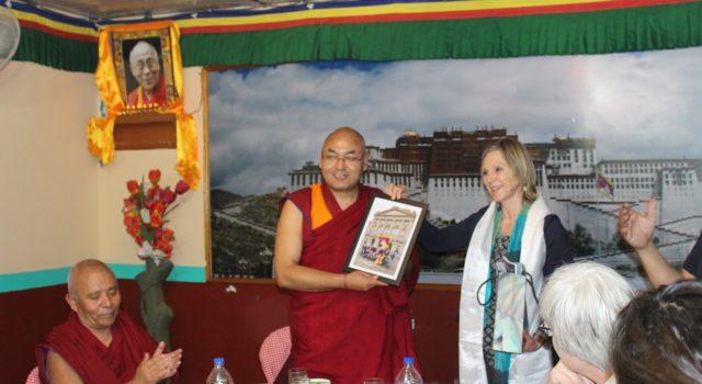 Swiss Delegation visits Dharamsala