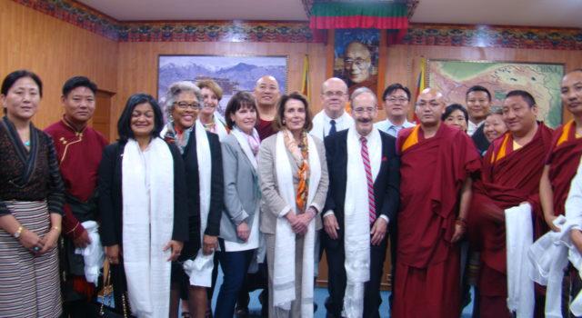 US Congressional Delegation Visits Tibetan Parliament-in-Exile