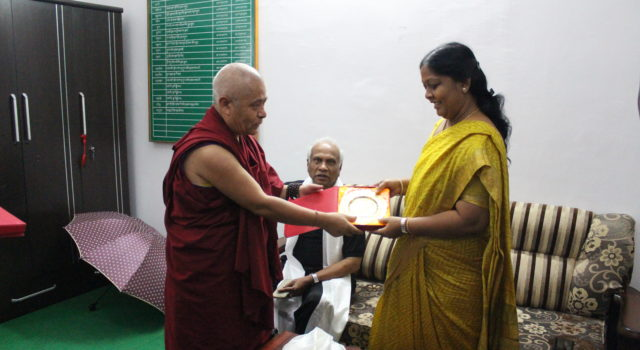 Central Council of Indian Medicine's President,Vice President and Secretary visit Tibetan Parliament