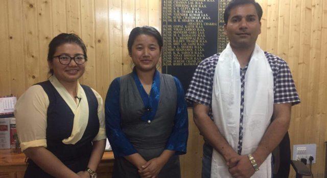 SUCCESSFUL CONCLUSION OF PARLIAMENTARIAN Ms. LHAGYARI NAMGYAL DOLKAR'S VISIT TO BIR, BHUNTAR & KULLU-MANALI.
