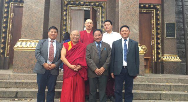 Tibetan Parliamentary Delegation in Russia.