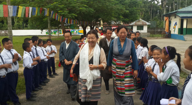 Parliamentarian Mrs. Dolma Tsering concluded her official visit to North-East India