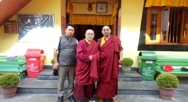 Parliamentarians Ven. Khenpo Kada Ngodup Sonam and Mr. Tsewang Tashi's official visit to Tibetan settlements in Sikkim and West Bengal successfully completed.