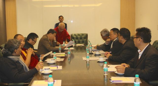 Tibetan Parliamentary delegation concludes week-long Tibet Advocacy campaign in New Delhi