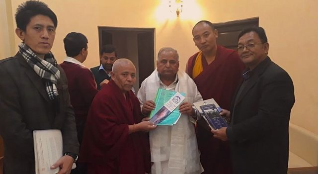 Tibet advocacy campaign by  Tibetan Parliamentary Delegation continues in Delhi