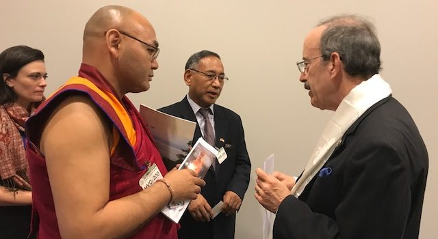 Speaker of Tibetan Parliament calls on US Congress members in DC