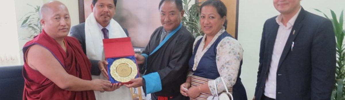 Tibetan Parliamentary delegation to India's North-East region of Meghalaya and Assam concluded successfully