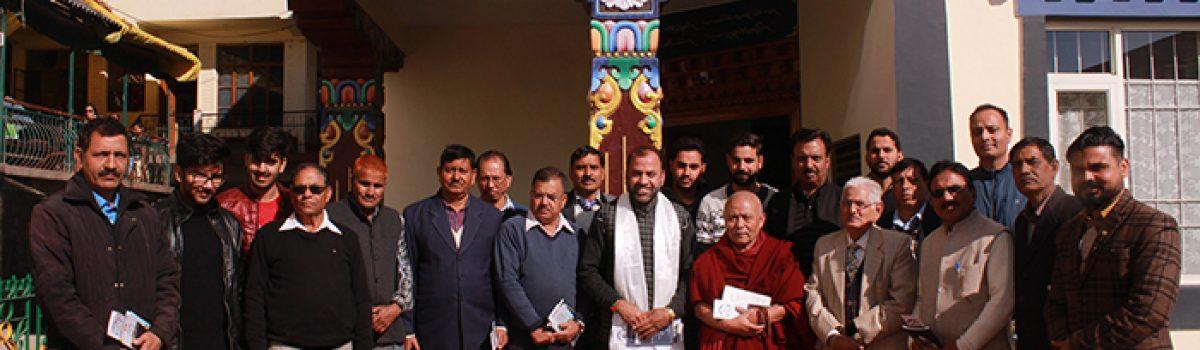 Former HP MLA visits Tibetan Parliament-in-Exile