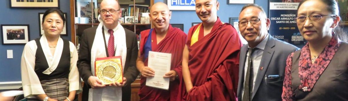 Tibetan Parliamentary Delegation Calls on members of the US Congress