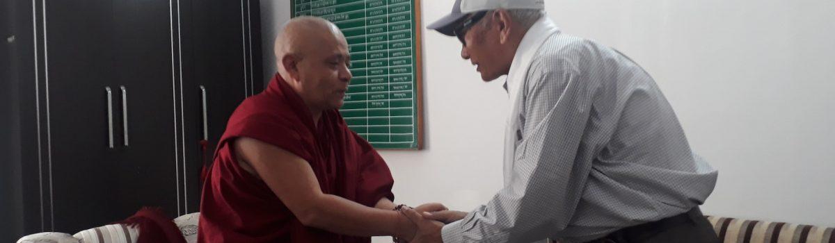 Former Deputy Speaker Dorjee Damdul visits Tibetan Parliament-in-Exile