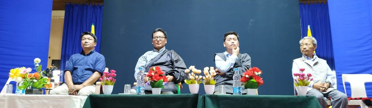 Parliamentarians Serta Tsultrim and Dorjee Tseten concludes their Tibetan Settlements' visit in North India