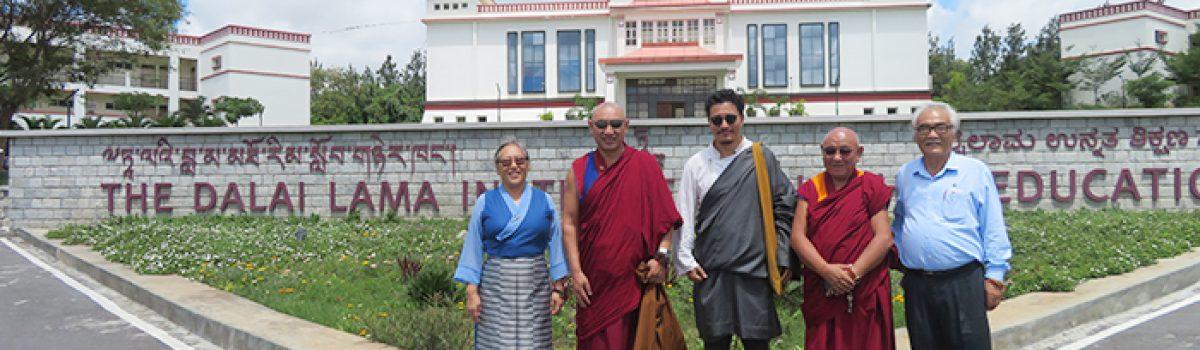 Parliamentarians Geshe Monlam Tharchin and Ratsa Sonam Norbu conclude visitation Program in South India
