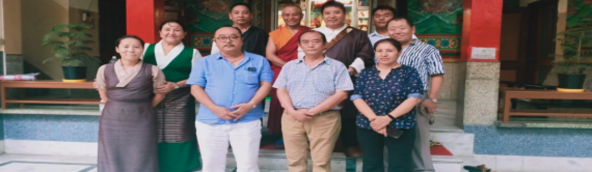 Parliamentarians Karma Gelek and Lobsang Dakpa conclude their visit to Samyeling Tibetan settlement, New Delhi