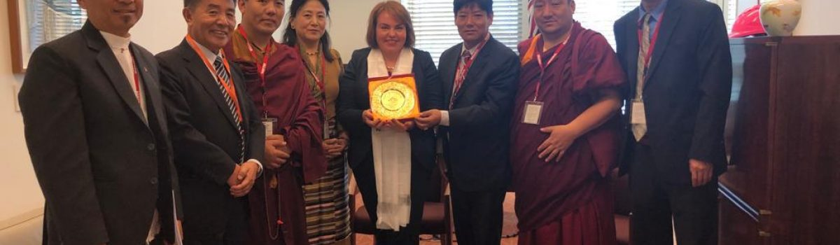 Tibetan Parliamentary Delegation Meets Australian Members of Parliament in Canberra