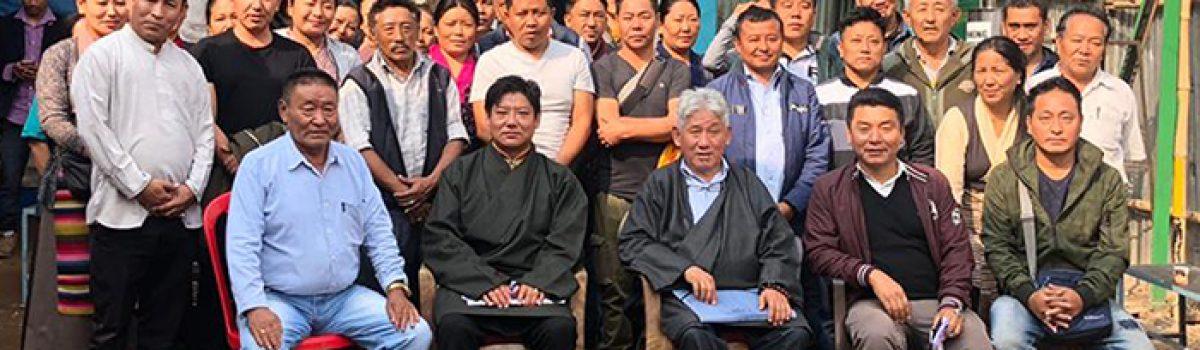 Parliamentarians Dawa Tsering and Ngawang Tharpa Visit Tibetan Winter Sweater Sellers of Odisha, West Bengal and Jharkhand