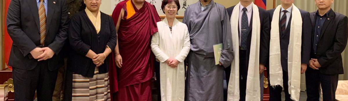Tibetan Parliamentarian Delegation Continues Tibet Advocacy in Taiwan
