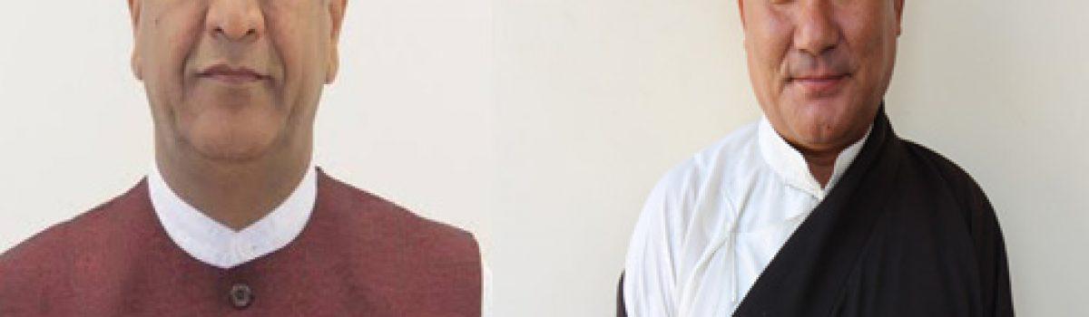 Speaker Pema Jungney Congratulates Himachal Pradesh BJP President Dr Rajeev Bindal