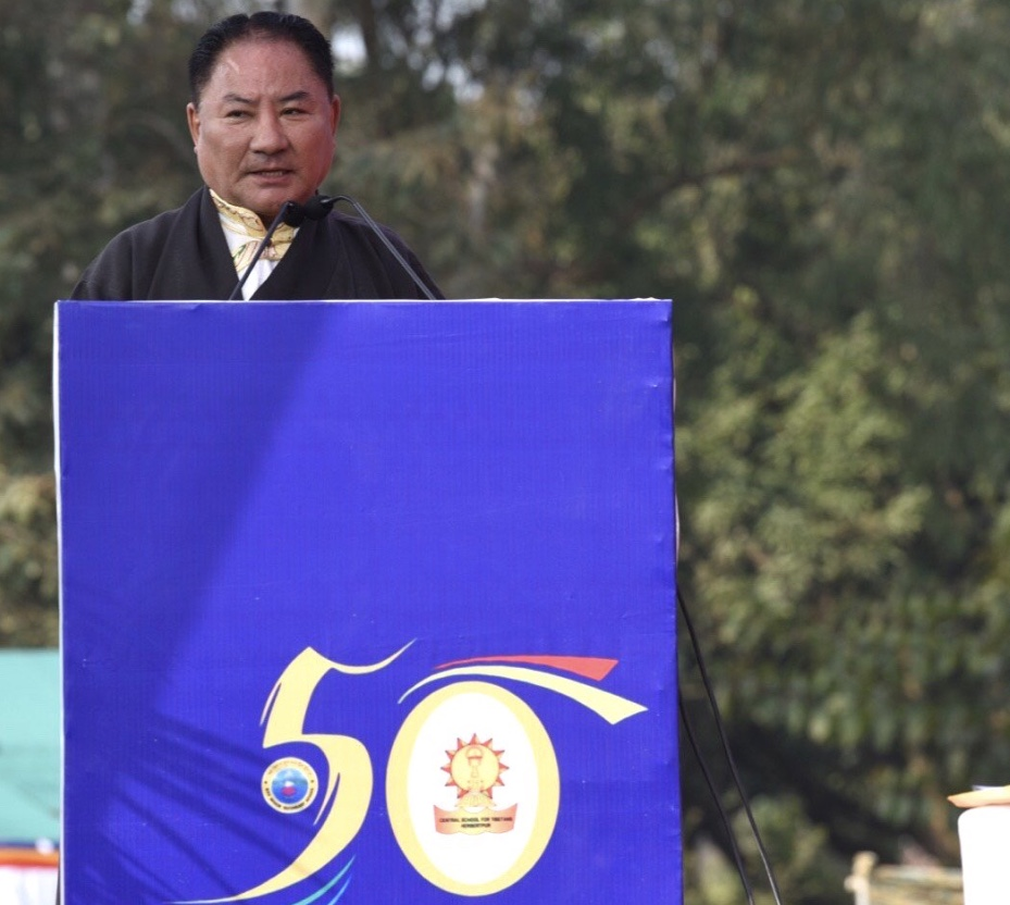 Speaker Pema Jungney Addresses the Golden Jubilee Celebration of CST Herbertpur