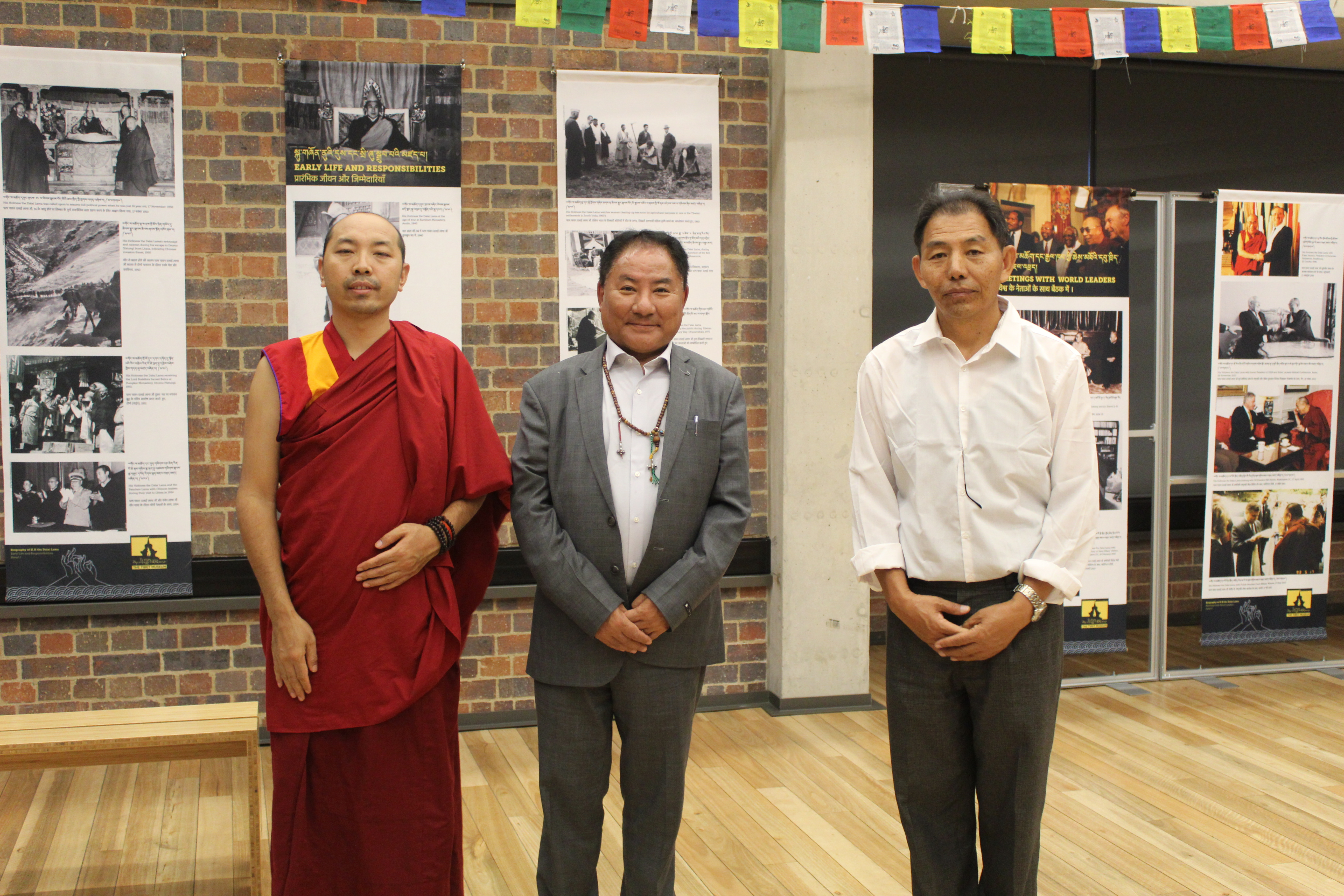 Speaker Pema Jungney Visits Johannesburg Holocaust and Genocide Center, and Biographical Exhibition of H. H. the Dalai Lama