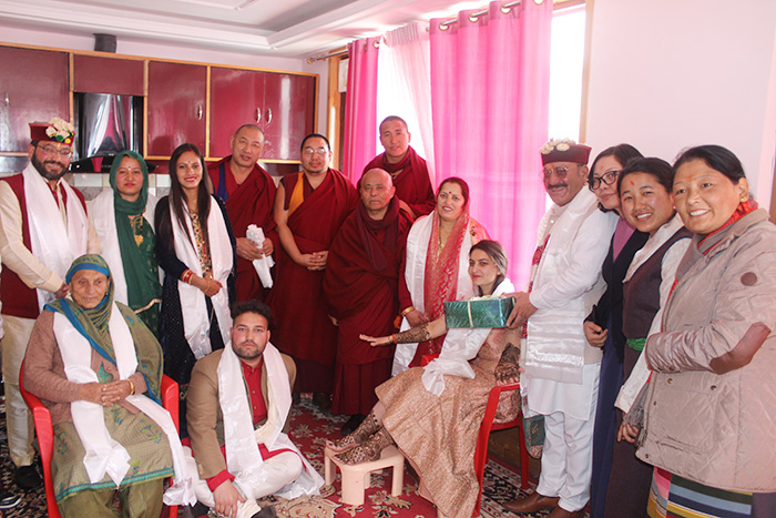 Deputy Speaker along with the Parliament Members Attends Dham Hosted by Dharamsala Deputy Mayor