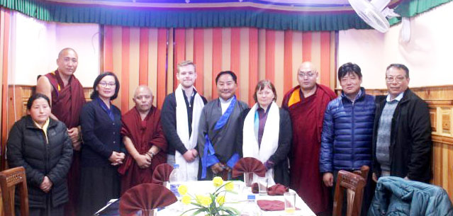 Tibetan Parliament-in-Exile hosts dinner for Czech MPs