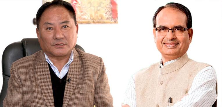Speaker of TPiE congratulates Madhya Pradesh CM Shivraj Singh Chouhan on his re-election
