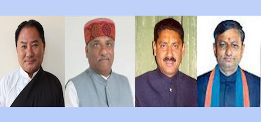 Speaker Pema Jungney congratulates newly appointed Cabinet Ministers of Himachal Pradesh