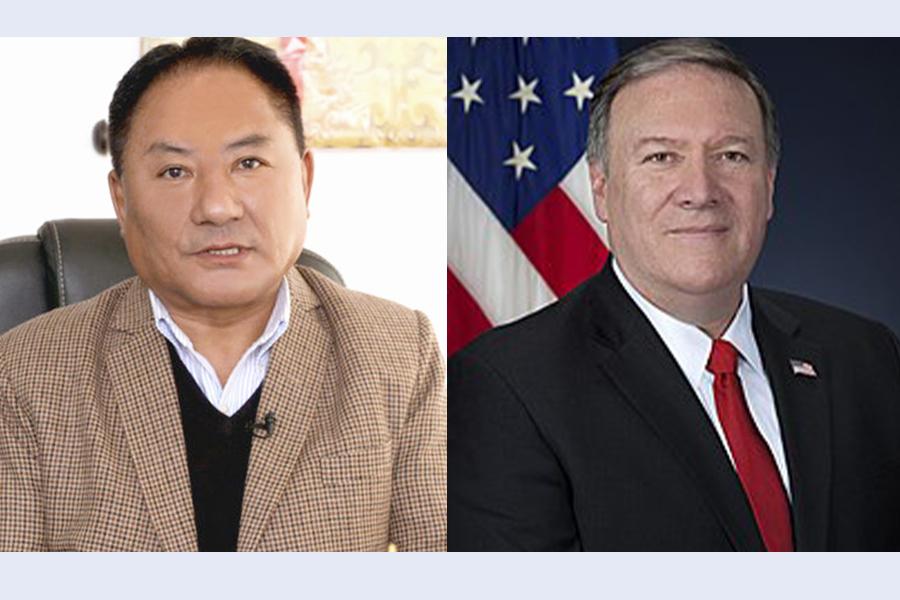 Speaker Pema Jungney welcomes the designation of US Special Coordinator for Tibetan Issues