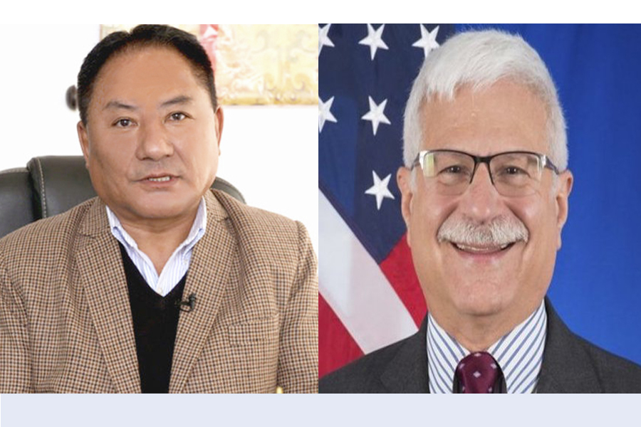 Speaker congratulates newly appointed US Special Coordinator for Tibetan Issues