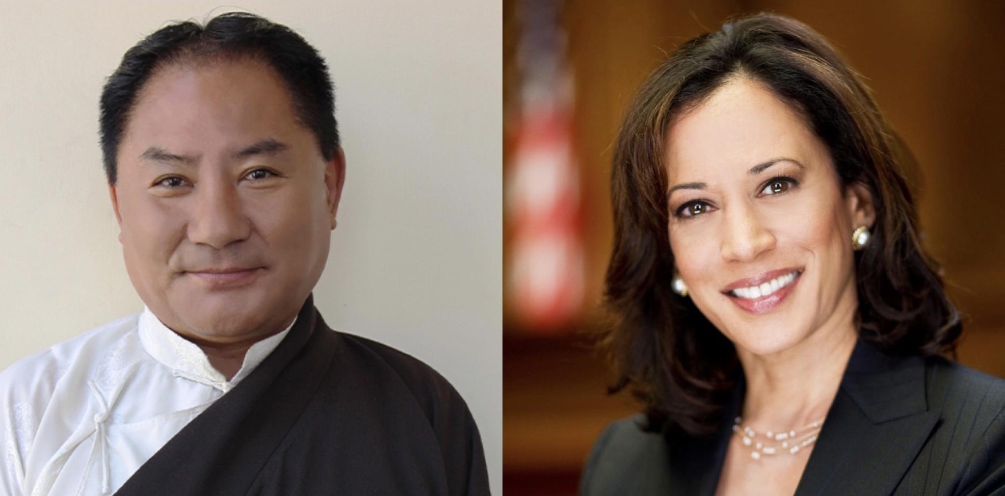 Speaker Pema Jungney congratulates US Vice President Kamala Harris