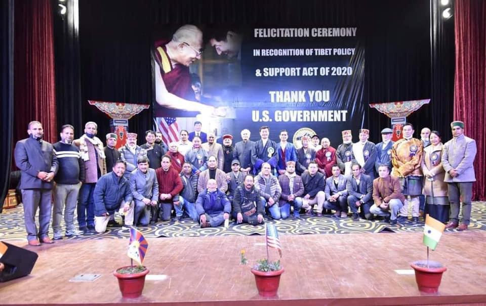Speaker & Deputy Speaker partake in the Felicitation ceremony in recognition of TPSA 2020 by Dharamshala ITFA