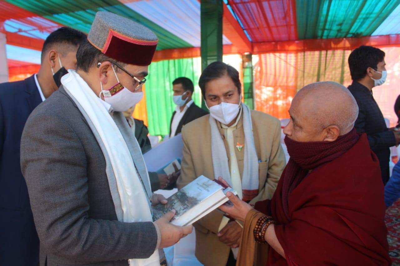 Deputy Speaker Attends 72nd Republic Day Celebration of India in Dharamshala