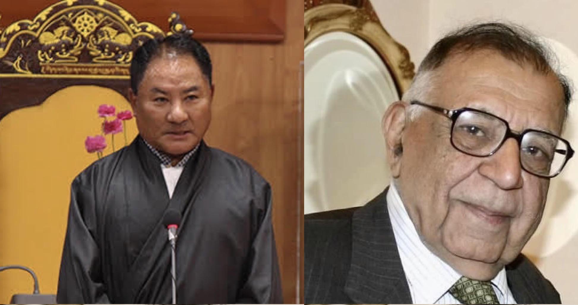 Speaker Condoles Demise of CTA Legal Advisor late Shri J. M Mukhi