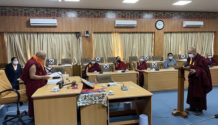 Parliamentarians Geshe Gangri and Namgyal Qusar Sworn in
