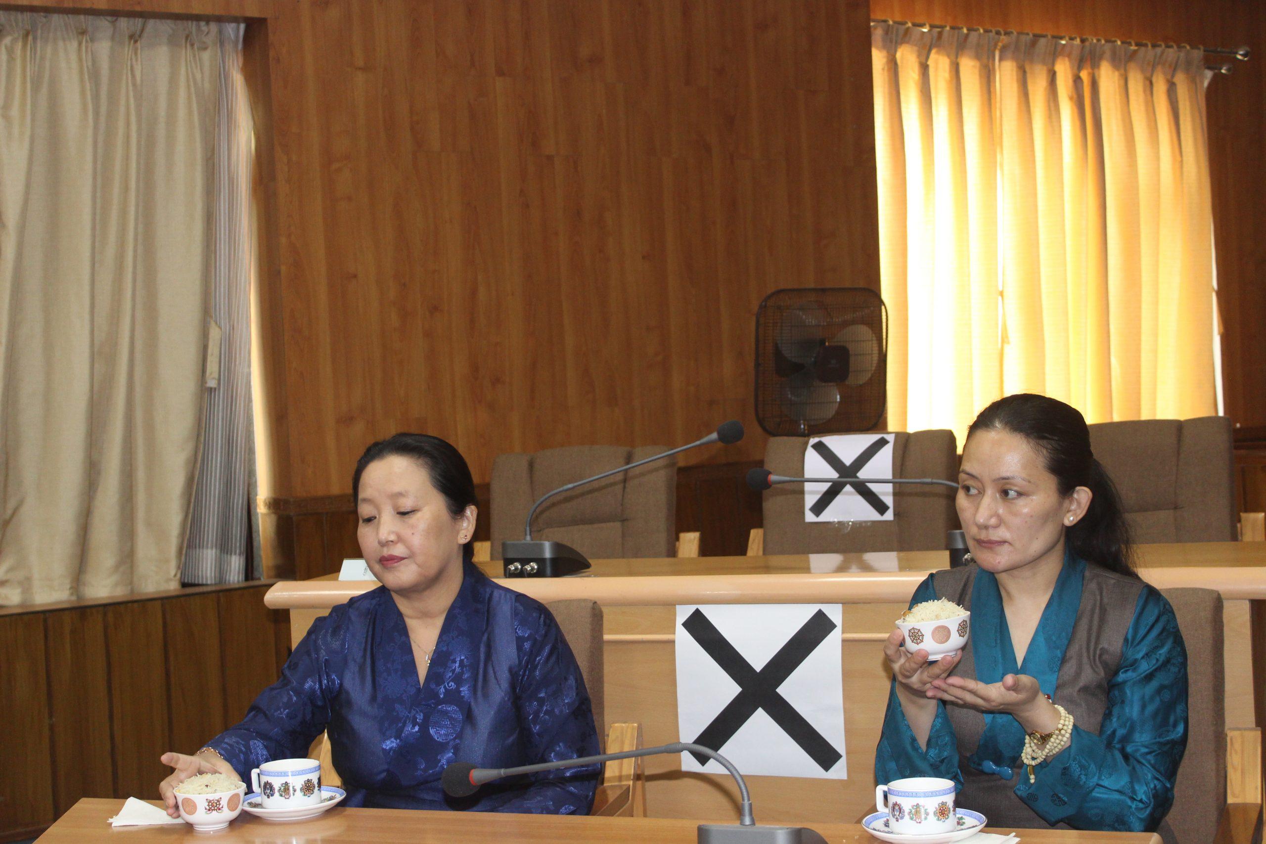 Parliamentarians Tsering Dolma and Sonam Wangmo Sworn in